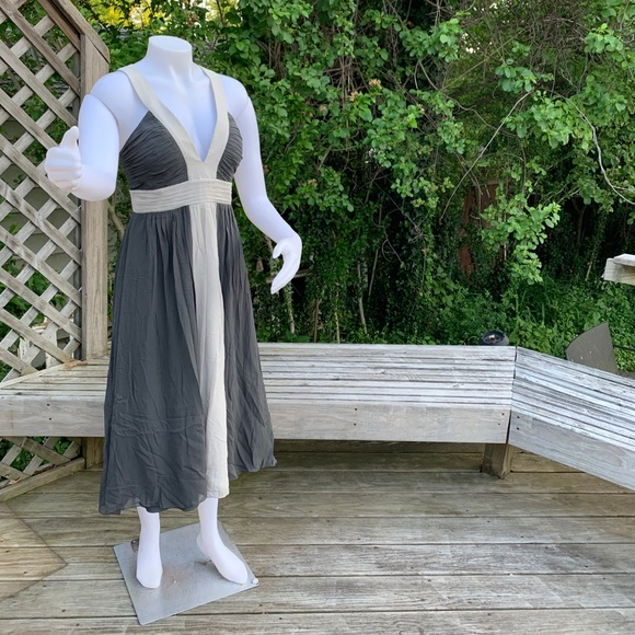 Max & Cleo Dresses & Skirts - Slate Grey with soft grey party dress